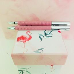 We love flamingos!