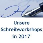 Schreibworkshops 2017